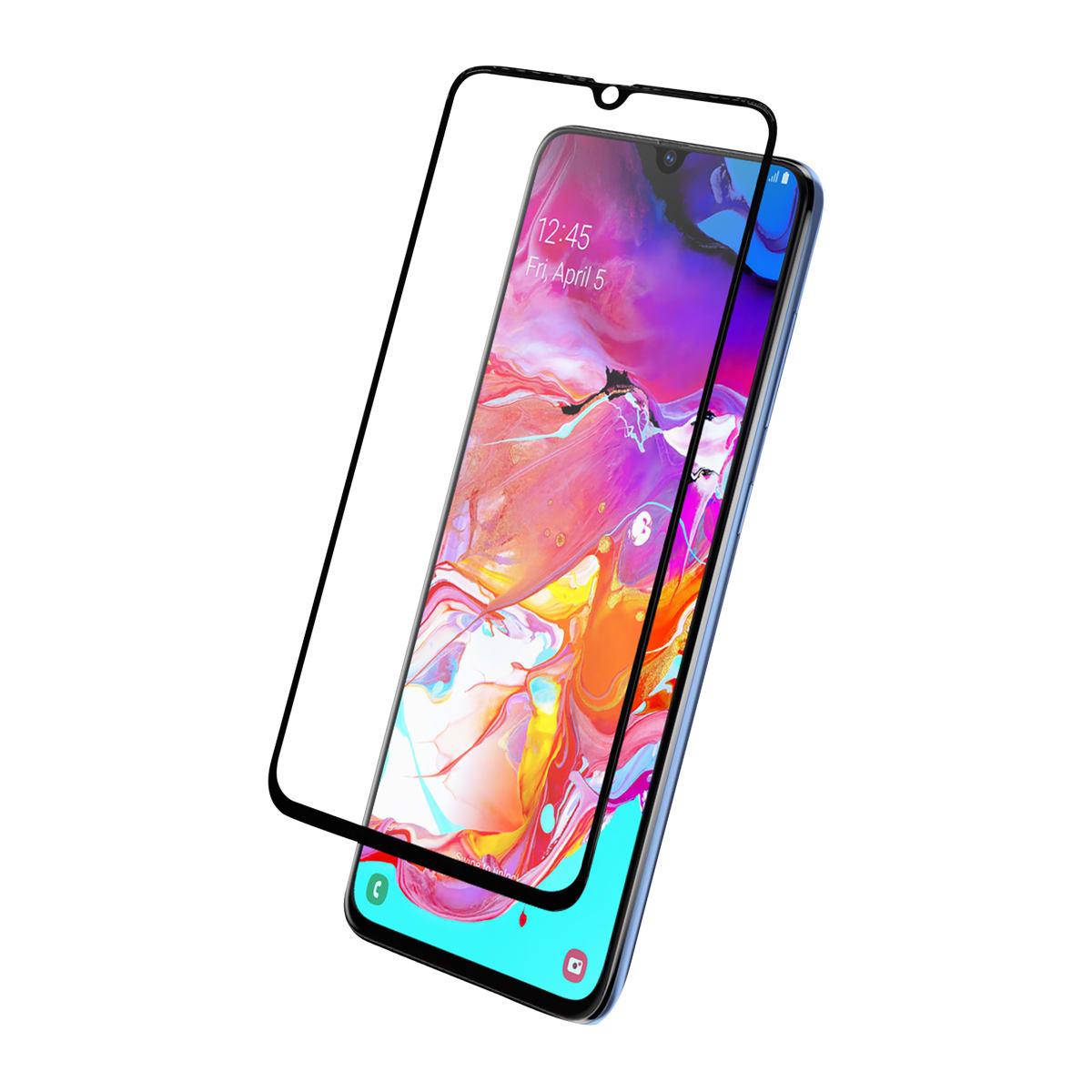 Protection intégrale en verre trempé pour Samsung Galaxy A70