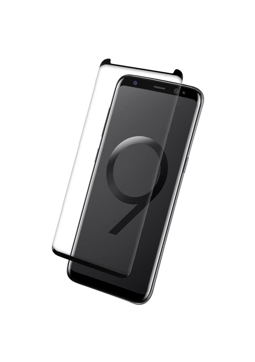 Protection intégrale en verre trempé pour Samsung Galaxy S9