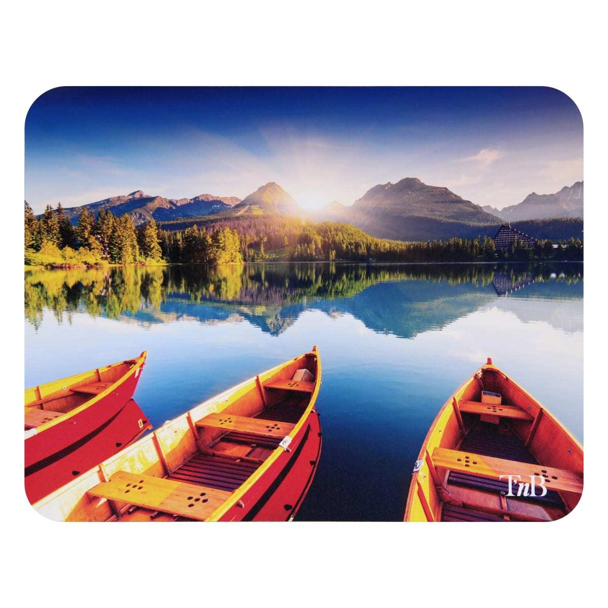Display box of 40 illustrated mixed mouse pads
