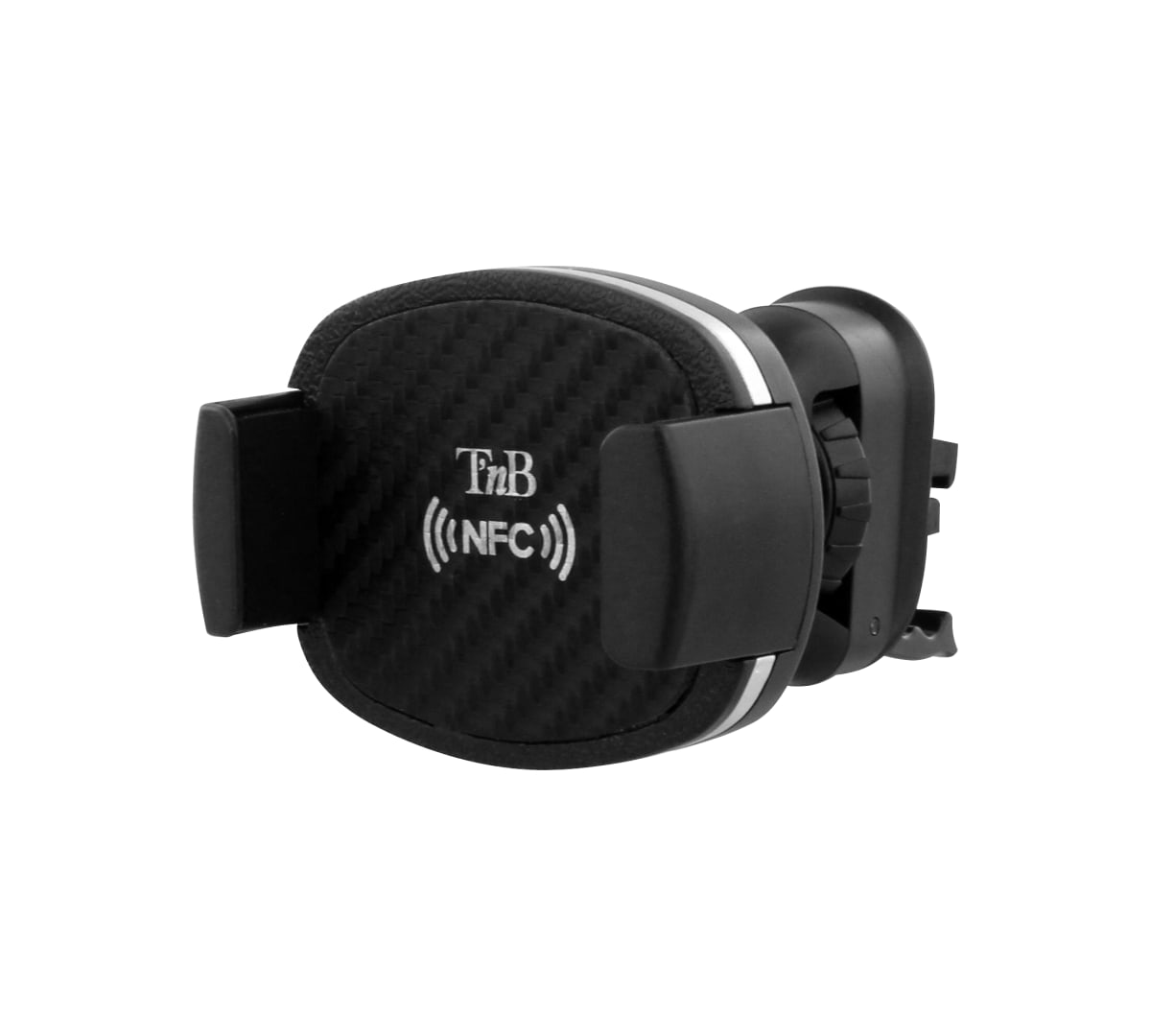 Carbon and NFC jaw holder for air vent grid