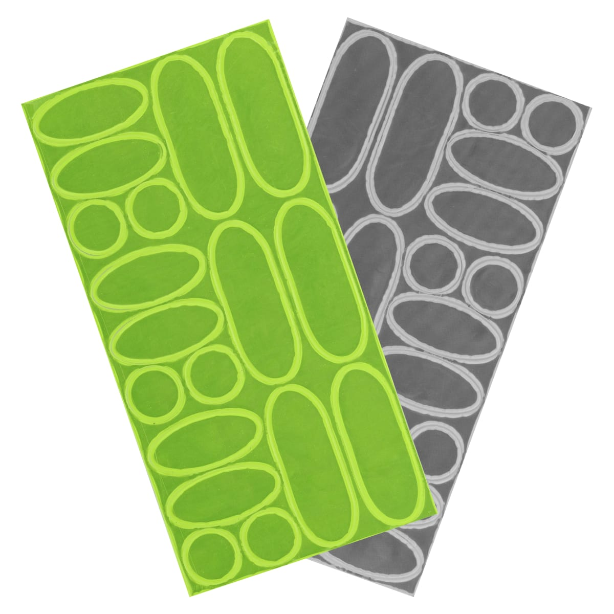 Pack of 36 reflective stickers
