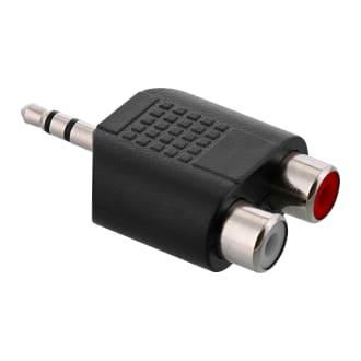 Jack 3.5mm male / 2 RCA female adapter
