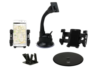 Air vent grid and suction cup jaw holder compatible with GPS