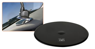 Dashboard adaptor for suction cup holder