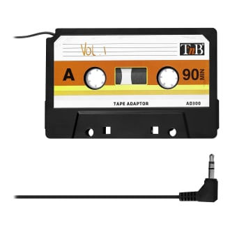 Adaptateur cassette jack 3.5mm