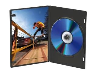 Boîtiers pour DVD x10 SLIM