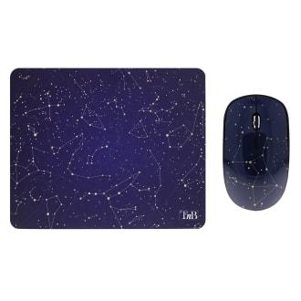 Bundle tapis de souris et souris sans fil SPACE EXCLUSIV