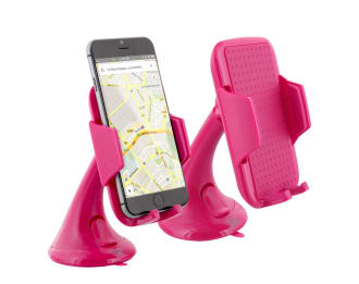 Pink suction cup jaw holder