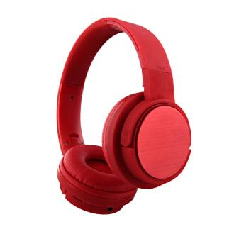SHINE Bluetooth headphone red