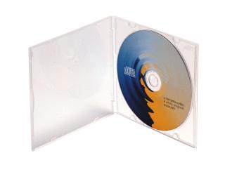 CD cases x5 SLIM