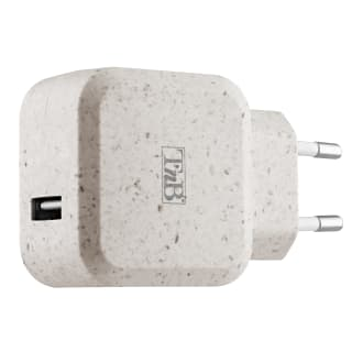 Chargeur secteur 1 USB éco conçu