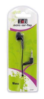 Wired earphone MONO jack black
