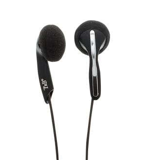 Wired earphones STEREO jack black
