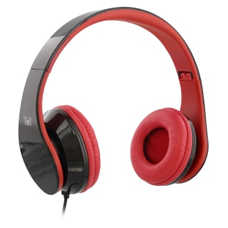 STREAM jack 3,5mm wired headphone red
