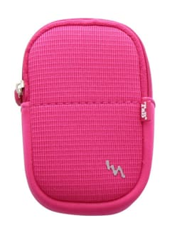 FUN-PINK NEOPRENE CAMERA CASE