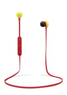 Bluetooth earphones TREND red