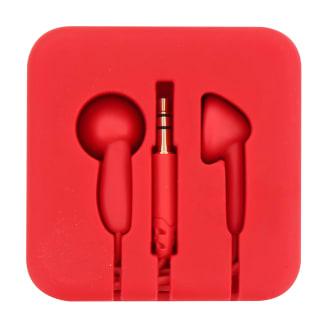 Wired earphones jack POCKET red