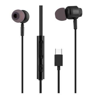Ecouteurs filaires C-BUDS type-C noir