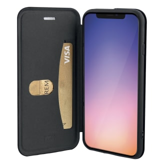 Premium folio case for iPhone 11 Pro.