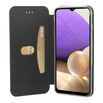 Premium folio case for Samsung Galaxy A32 5G.