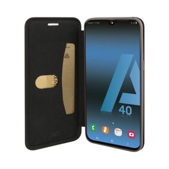 Premium folio case for Samsung Galaxy A40.