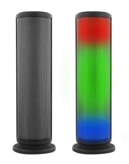Wireless speaker LED