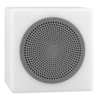 Wireless speaker LUMI LED grey
