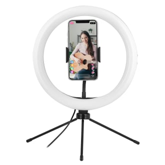 """10"""" LED ring with mini tripod for smartphone - INFLUENCE"""