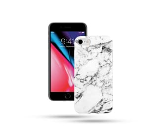 COVER FOR iPHONE 8/7 - MARBLE WHITE
