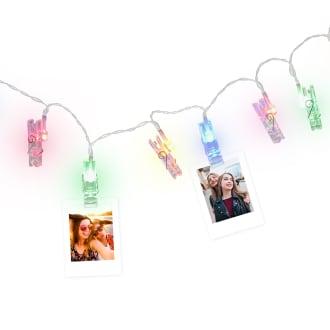 Guirlande photo LED 10 clips