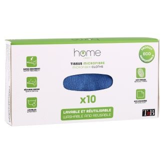 Box x10 Microfiber cloths