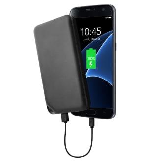 Batterie de secours 2 USB 10 000 mAh 10W