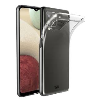Samsung A12 transparent soft case
