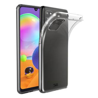 Samsung A31 transparent soft case
