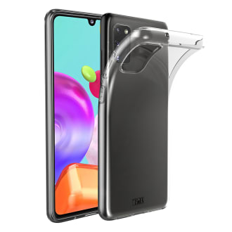 Samsung A41 transparent soft case