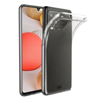 Samsung A42 transparent soft case