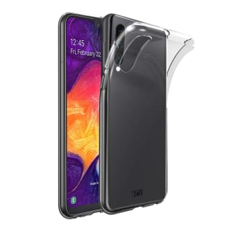 Samsung A50 transparent soft case