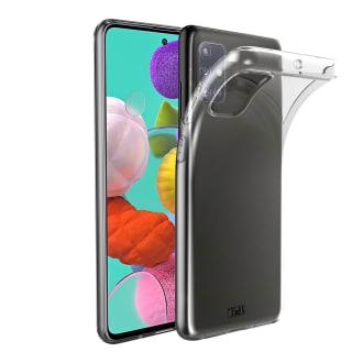 Coque souple transparente pour Samsung Galaxy A51