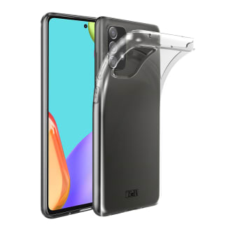 Coque souple transparente pour Samsung Galaxy A52 4G et 5G