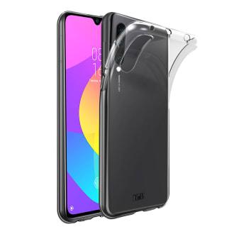 Coque souple transparente pour Xiaomi MI 9 Lite.