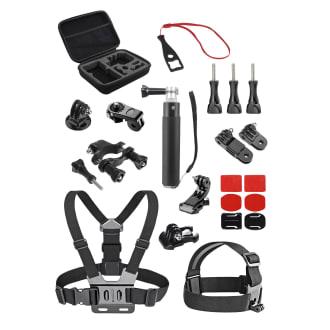 Pack de 23 accessoires pour Camera Sport