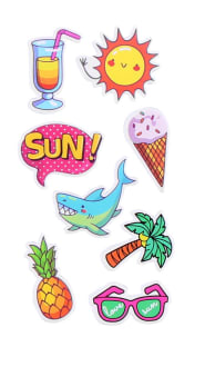 SMARTPHONE STICKERS - SUMMER