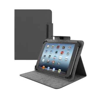 "Universal folio case for tablet 10"" REGULAR black"