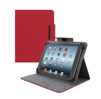 "Etui folio universel pour tablette 10"" REGULAR rouge"