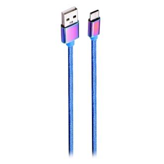 Câble USB Type-C connecteurs iridium