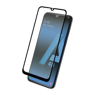 Protection intégrale en verre trempé pour Samsung Galaxy A40