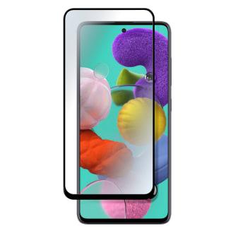 Protection intégrale en verre trempé pour Samsung Galaxy A51