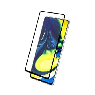 Protection intégrale en verre trempé pour Samsung Galaxy A90 et A80