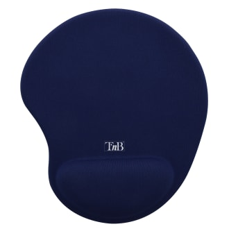 Ergonomic mouse pad with wrist-rest