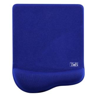 Tapis de souris ergonomique gel antimicrobien bleu